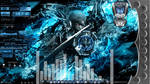 Metal Gear Rising Animated Desktop for Rainmeter