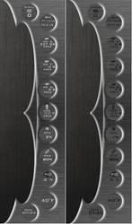 Blade Sidebar v1.1 for Rainmeter by ionstorm01
