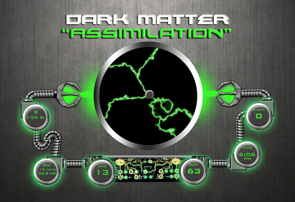 Dark Matter - Assimilation  - for Rainmeter by ionstorm01