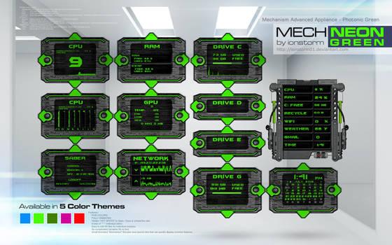 Mechanism Advanced Appliance - Photonic Green v1.1