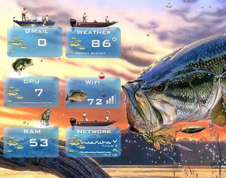 Outdoor Living - Fishing - for Rainmeter 1.0