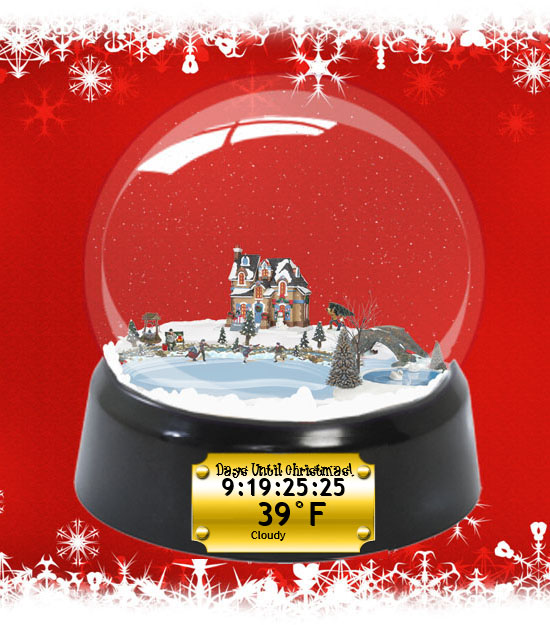 Family Christmas Snow Globe by Ionstorm v1.1 by ionstorm01