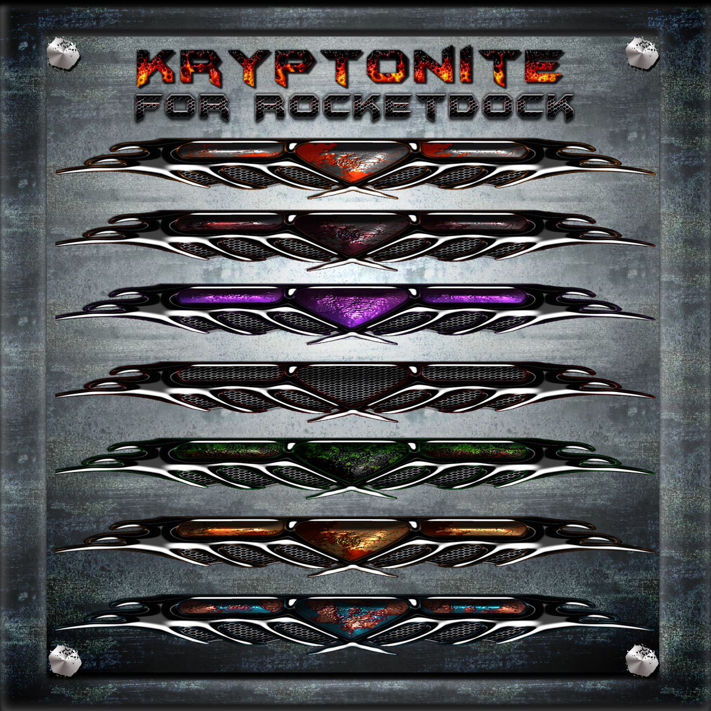 Kryptonite for Rocketdock by ionstorm01