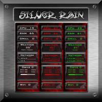 Silver Rain for Rainmeter