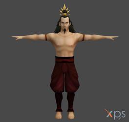 Avatar: The Last Airbender - Ozai for XNALara