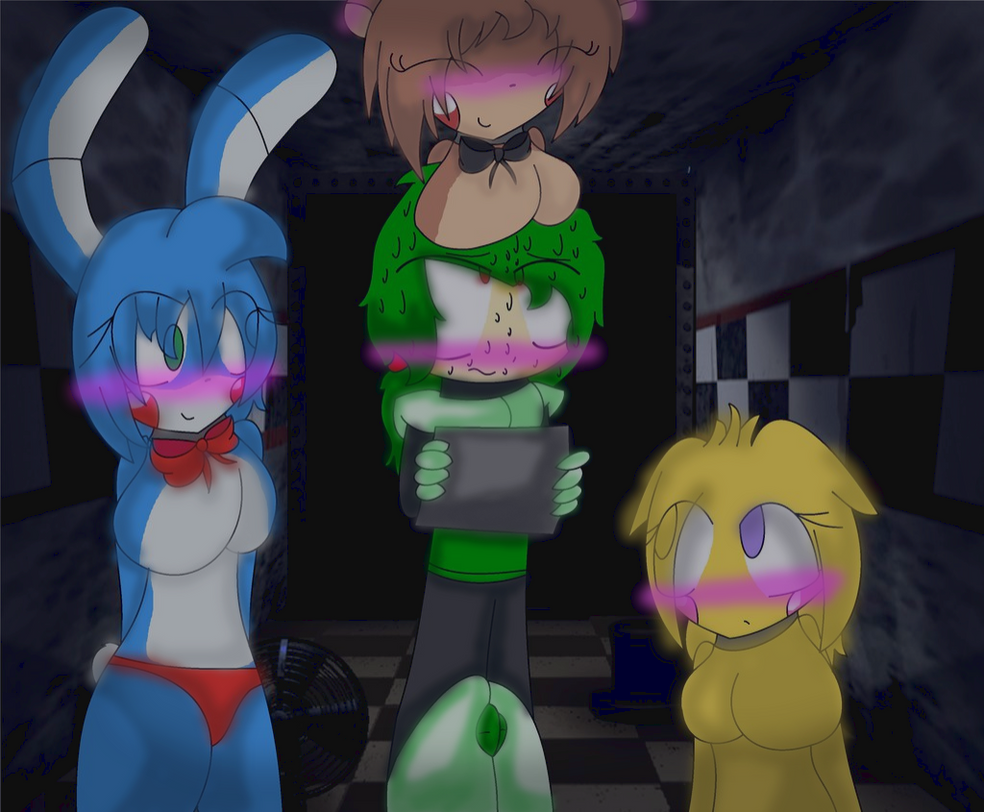 five nights in anime finished for my brother by yayfluttershy04 on