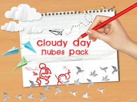 Cloudy Day Nubes PNG Pack