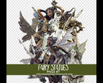 Fairy Statues png pack