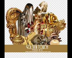 Golden Touch png pack