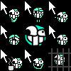 Ugly emote cursor pack