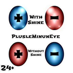 Plusle Minun Eye Texture