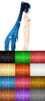12+ Sparkle Hair Texture