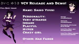 Saiko Yuuki VCV RELEASE and DEMO!