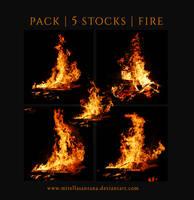 PACK - 5 STOCKS  FIRE by MirellaSantana