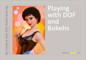 DAZ Studio + iray: Playing with DOF and Bokehs