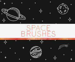 BRUSHES #1: SPACE
