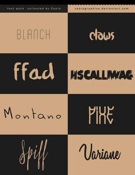 9| Font Pack