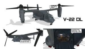 MMD V-22 Osprey DL