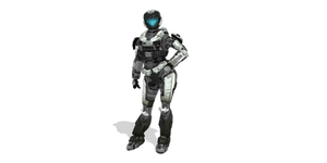 MMD Female Spartan Halo Reach DL