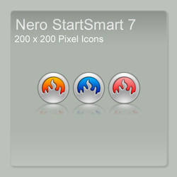 Nero StartSmart 7 Icons by FreaK0