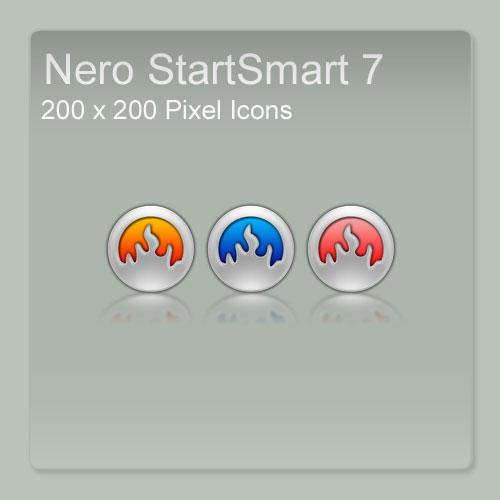 Nero StartSmart 7 Icons by FreaK0