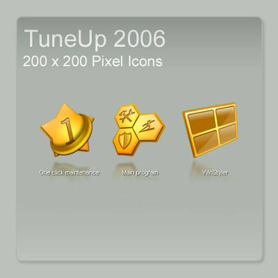 Tuneup 2006 Icons