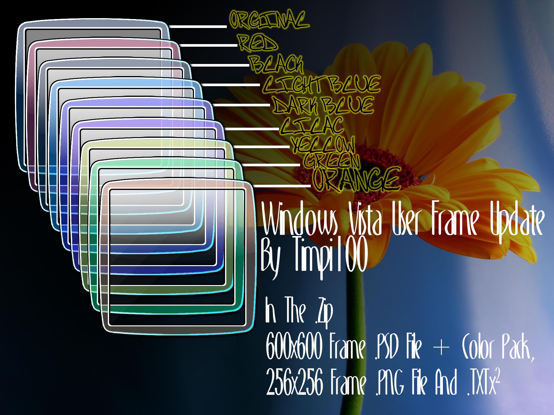 Vista User Frame Update by Timpi100