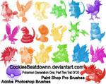 Pokemon Brushes- Gen 1, Part 2