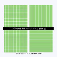    Patterns PS    #001    by Izza-chan