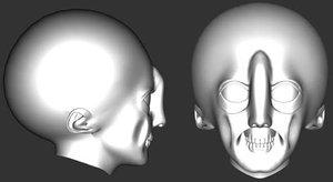 Myv4alienhead 1 by BorgBoy7