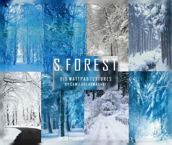 SNOW FOREST- Wattpad Textures by camiladearmas481