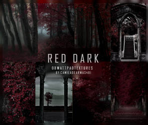 RED DARK I - Wattpad Textures by camiladearmas481