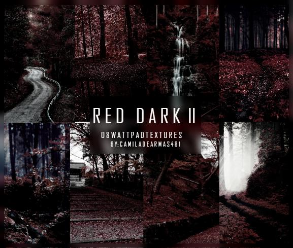 RED DARK II - Wattpad Textures by camiladearmas481