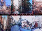 PARIS STREETS - Wattpad Textures