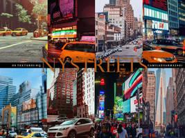NEW YORK STREETS - Wattpad Textures by camiladearmas481