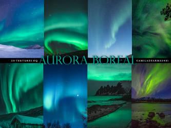 AURORA BOREAL - Textures by camiladearmas481