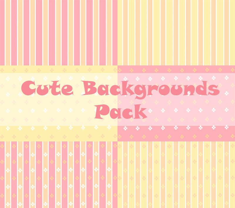 Cute Backgrounds Pack By Originstory On Deviantart