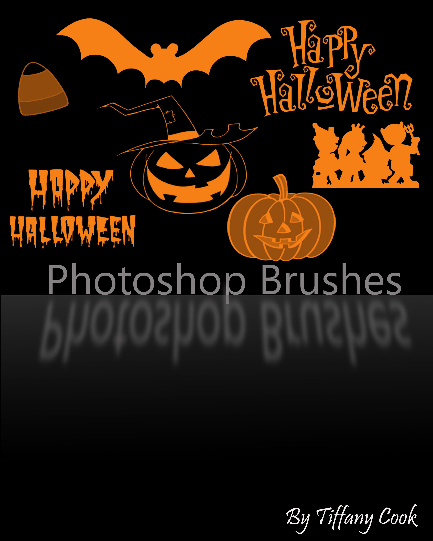Halloween Brush Set