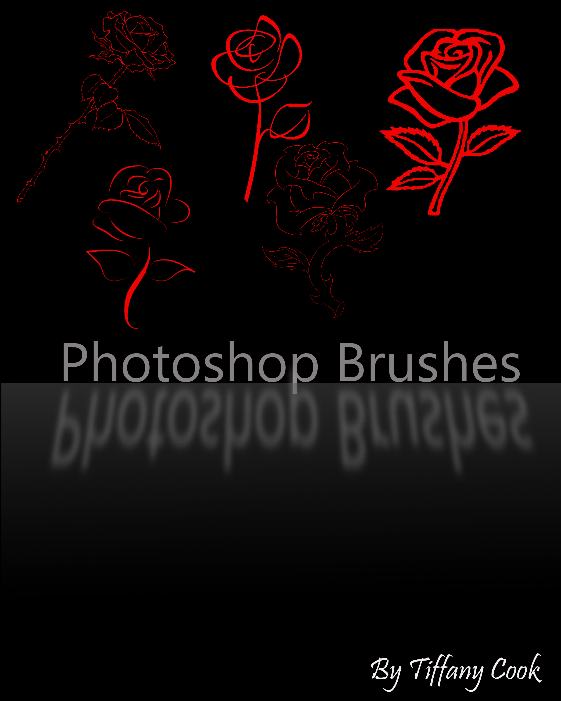 Rose Brush Set