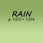 RAIN p1,013 + 1,014 - Rumor Mill