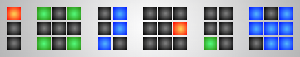 TIX or Color Pattern Clock 1.0 by JorgeLuis-JorgeLuis