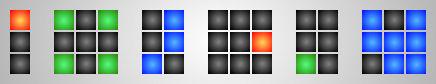 TIX or Color Pattern Clock 1.0