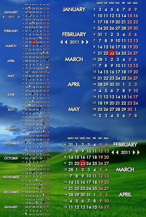 Compact Calendar 1.2.3 by JorgeLuis-JorgeLuis