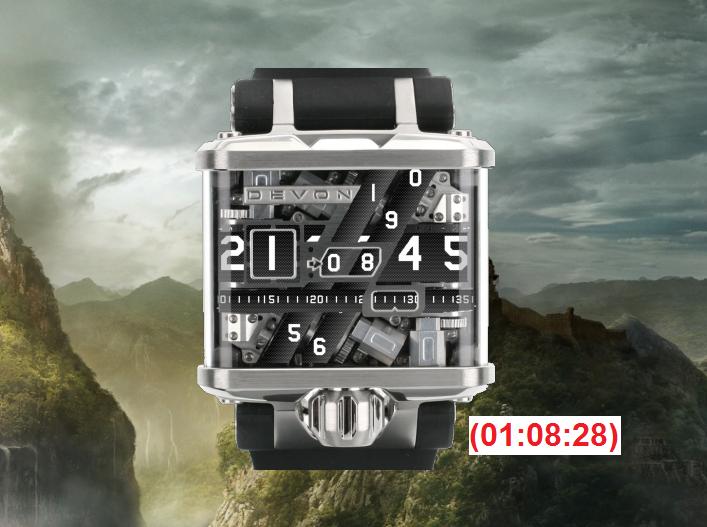 DEVON Tread 1 Watch v1.0 by JorgeLuis-JorgeLuis