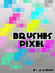 brushes pixel efect