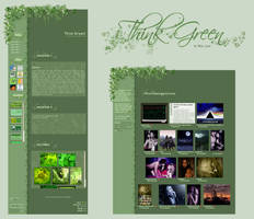 Think Green Journal + Gallery