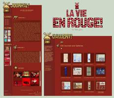 LaVie En Rouge Journal+Gallery by BaB-Jane