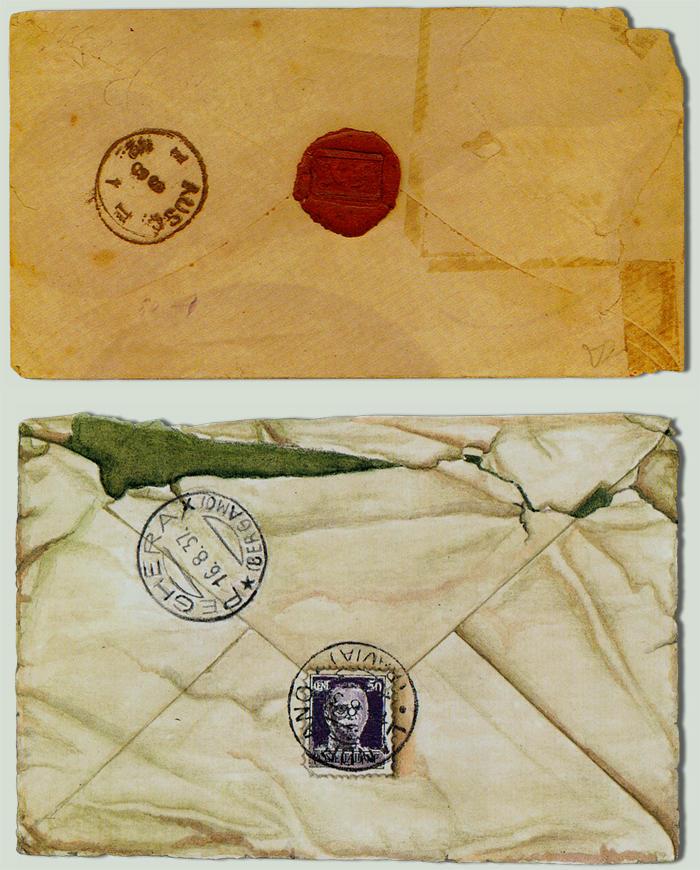 Vintage Envelopes - Stock by BaB-Jane