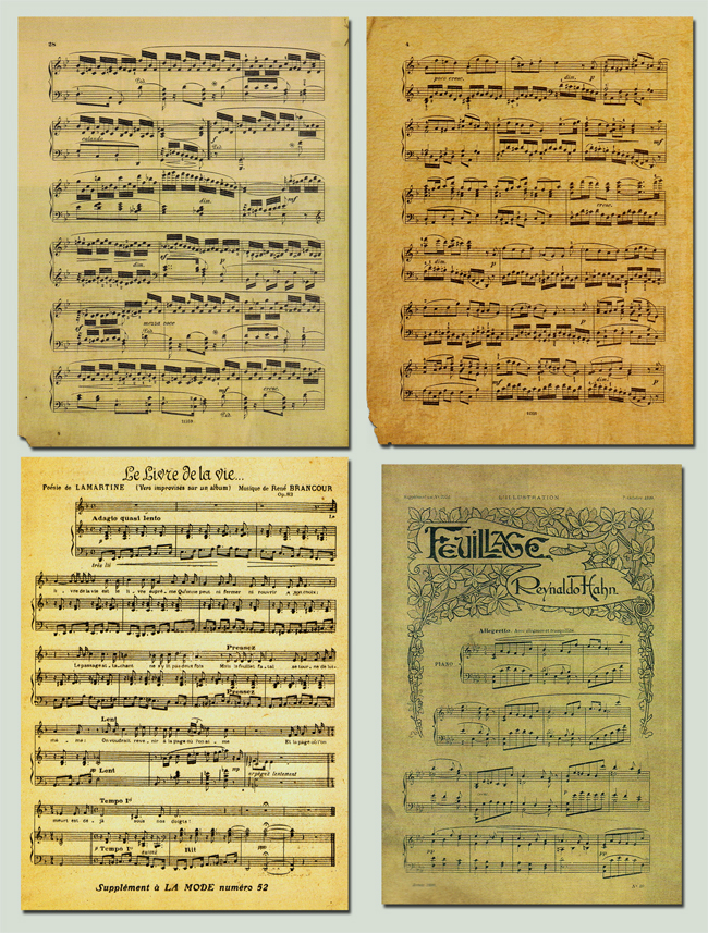 Music Notes - Stock by BaB-Jane on DeviantArt