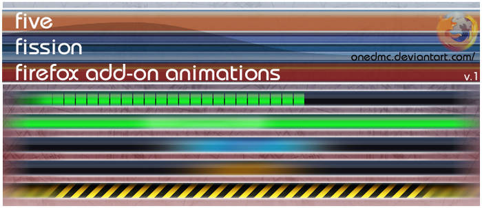 Five Fission Animations